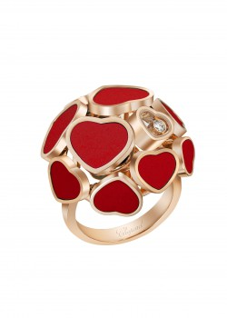 Scintillating Happy Heart Ring by Chopard – Editor's Pick