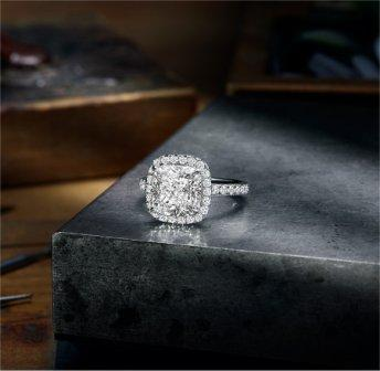 'The One' Engagement Ring- Harry Winston