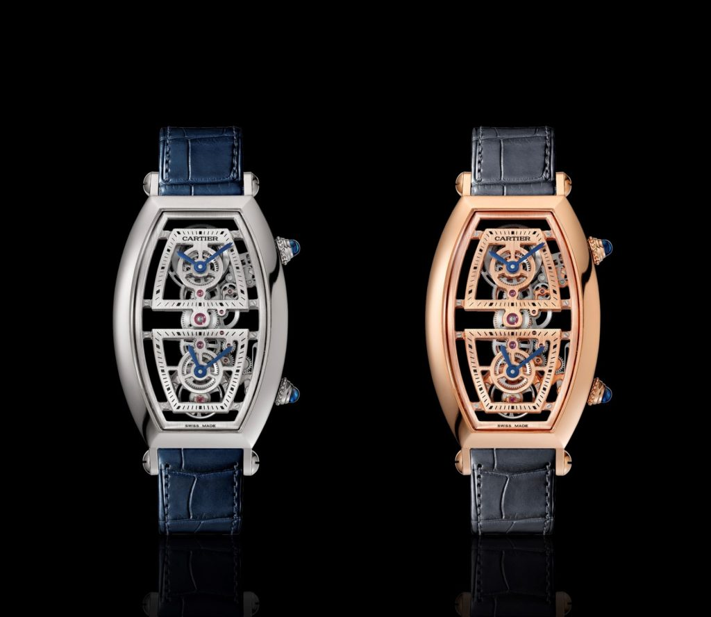 Cartier Tonneau Skeleton