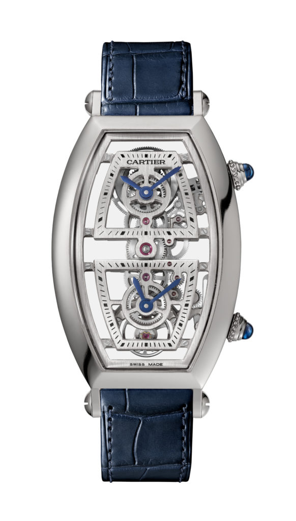 Cartier Tonneau Skeleton Watch
