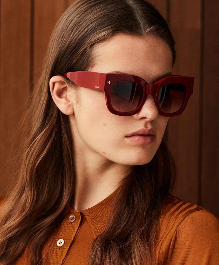 BALLY OCEAN D-FRAME SUNGLASSES