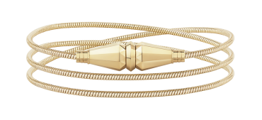 jack de Boucheron Triple Wrap yellow gold bracelet