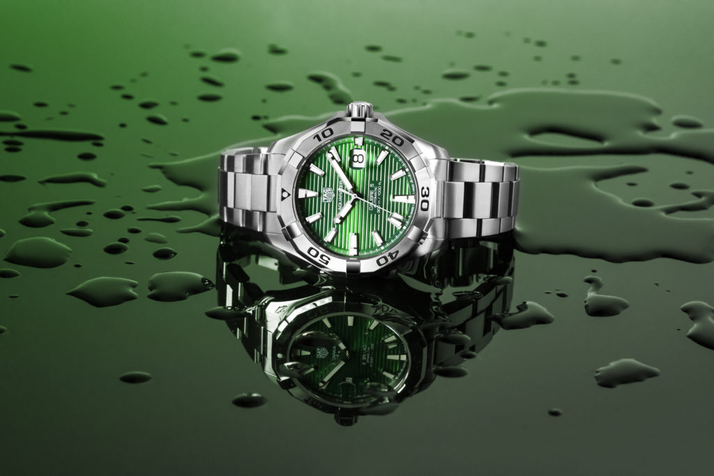 Tag Heuer Aquaracer Green Dial