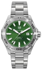 Tag Heuer Green Dial Aquaracer