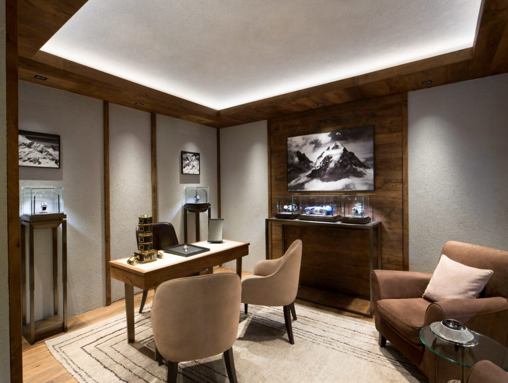 Chopard Boutique - Art In Time Gallery - Courchevel 1850